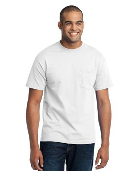 Port & Company PC55PT Tall Core Blend Pocket T-Shirt