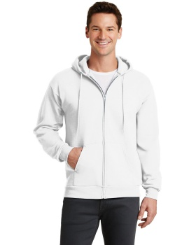 Port & Company PC78ZH Core Fleece Full Zip Hooded Sweatshirt