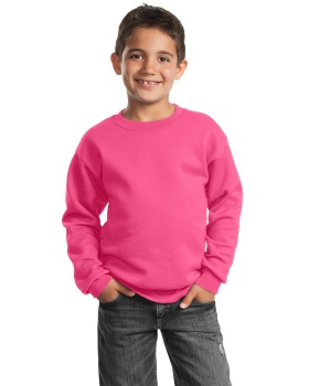 Port & Company PC90Y Youth Core Fleece Crewneck Sweatshirt