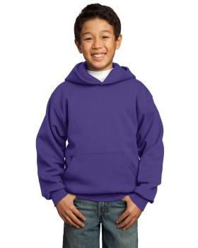 Port & Company PC90YH Youth Core Fleece Pullover Hooded Sweatshirt
