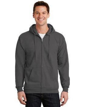 Port & Company PC90ZH Essential Fleece Full-Zip Hooded Sweatshirt