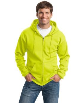 Port & Company PC90ZHT Tall Essential Fleece Full Zip Hooded Sweatshirt