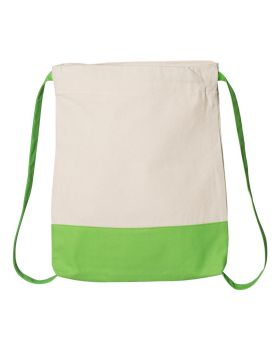 Q-Tees Q125700 Canvas Sport Backpack