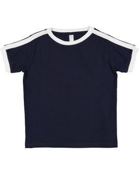 Rabbit Skins 3032 Toddler Soccer Ringer Fine Jersey T-Shirt