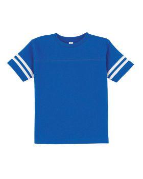'Rabbit Skins 3037 Toddler Football Fine Jersey T-Shirt'