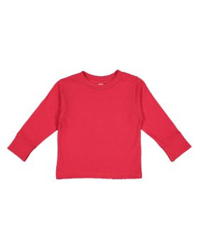 Rabbit Skins 3311 Toddler Long Sleeve Cotton Jersey Tee