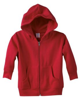 Rabbit Skins 3346 Toddler Full-Zip Fleece Hooded Sweatshirt