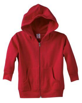 'Rabbit Skins 3346 Toddler Full-Zip Fleece Hooded Sweatshirt'