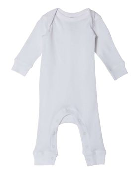 Rabbit Skins 4412 Infant Long Legged Baby Rib Bodysuit