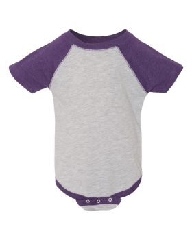 Rabbit Skins 4430 Infant Baseball Fine Jersey Bodysuit