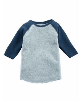 Rabbit Skins RS3330 Toddler Baseball Fine Jersey Tee