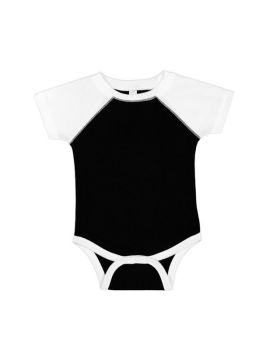 Rabbit Skins RS4430 Infant Baseball Fine Jersey Bodysuit