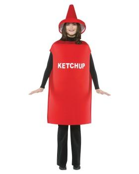 Rasta imposta GC305 Ketchup Costume Adult