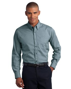 Red House RH66 Mini-Check Non-Iron Button-Down Shirt