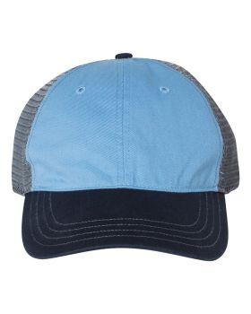 'Richardson 111 Garment Washed Trucker Cap'