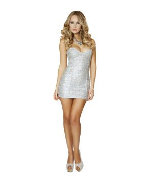 RomaCostume 3153 1Pc Sequin Mini Dress