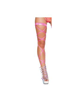 RomaCostume 3322 100? Shimmer Leg Strap With Attached Garter
