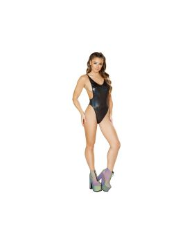 RomaCostume 3549 1Pc Low Cut Side Romper