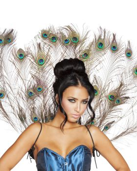 RomaCostume 4564 Peacock Tail Feather