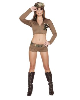 RomaCostume 4591 2Pc Sultry Soldier