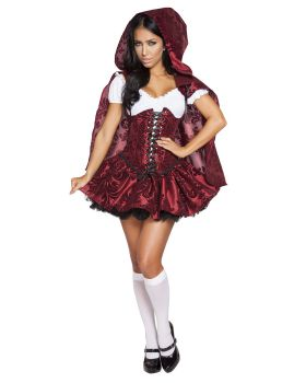 RomaCostume 4616 4Pc Lusty Lil' Red
