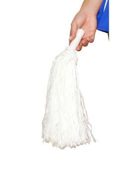 RomaCostume 4776 Pair Of White Pompoms