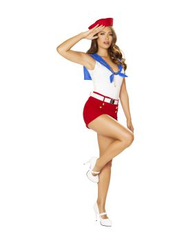 RomaCostume 4861 4Pc Ahoy Sailor