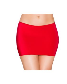 RomaCostume SK105 Lycra Mini Skirt