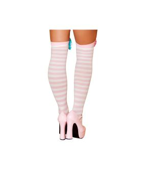 RomaCostume ST4421 Clown Stocking Bows
