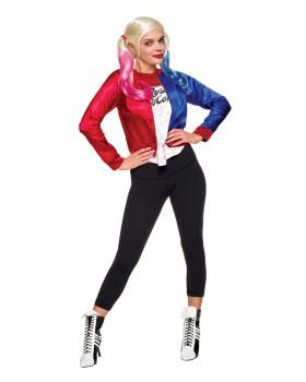 Rubies RU820078LG Ssquad Harley Quinn Adult Kit