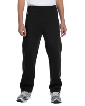 Russell Athletic 596HBB Dri Power Youth Open Bottom Sweatpants