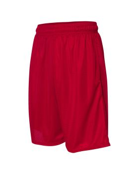 'Russell Athletic 651AFM 9 Tricot Mesh Pocketed Polyester Shorts'