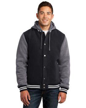 Sport Tek JST82 Insulated Letterman Jacket