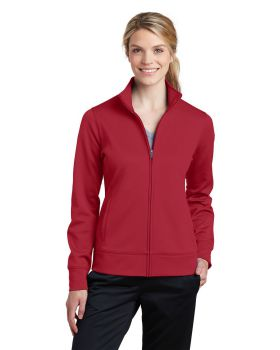 Sport Tek LST241 Ladies Sport Wick Fleece Full Zip Jacket