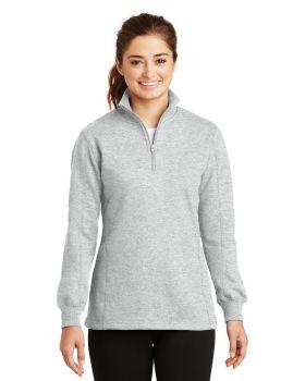 Sport Tek LST253 Ladies 1/4-Zip Sweatshirt