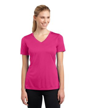 Sport Tek LST353 Ladies V Neck Competitor T-Shirt