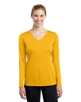 Sport Tek LST353LS Ladies Long Sleeve V Neck Competitor T-Shirt