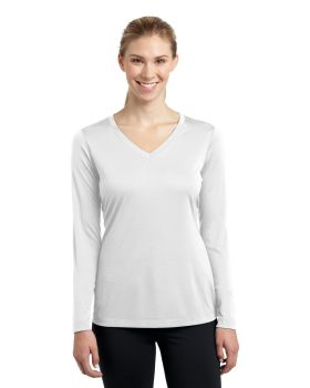 Sport Tek LST353LS Ladies Long Sleeve V Neck Competitor T-Shirt