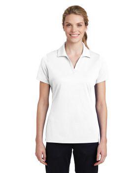 Sport Tek LST640 Ladies Posicharge Racermesh Polo Shirt