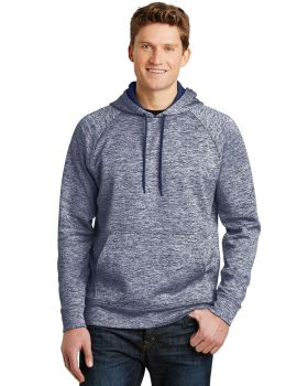 Sport Tek ST225 Posicharge Electric Heather Fleece Hooded Pullover