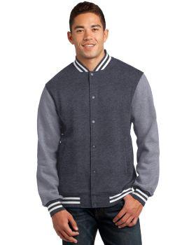 Sport Tek ST270 Fleece Letterman Jacket