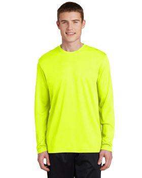 Sport Tek ST340LS Posicharge Racermesh Long Sleeve T-Shirt