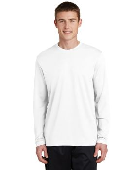 Sport Tek ST340LS Posicharge Racermesh Long Sleeve T-Shirt