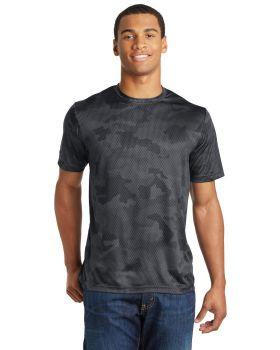 Sport Tek ST370 Camohex Interlock T-Shirt
