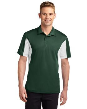 Sport Tek ST655 Side Blocked Micropique Sport Wick Sport Shirt