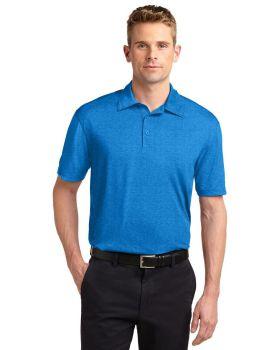 'Sport Tek ST660 Heather Contender Polo Shirt Polyester Jersey'
