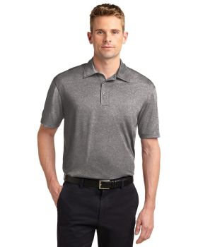 Sport Tek ST660 Heather Contender Polo Shirt Polyester Jersey