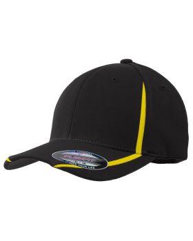 'Sport Tek STC16 Flexfit Profile Mid Colorblock Cap '