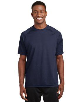 Sport Tek T473 Dry Zone Short Sleeve Raglan T-Shirt