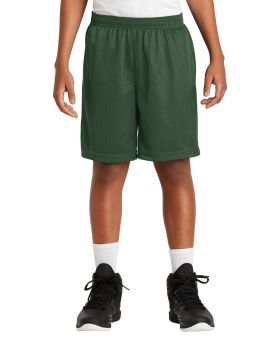 Sport Tek YST510 Youth Posicharge Classic Mesh Short